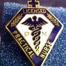 Lapel Pin LPN Licensed Practical Nurse Medical Graduation Pinning Pins 5019 New