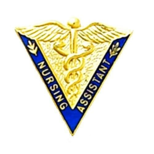 Nursing Assistant Pin Caduceus Medical Emblem Graduation Nurse Pins 5031 New