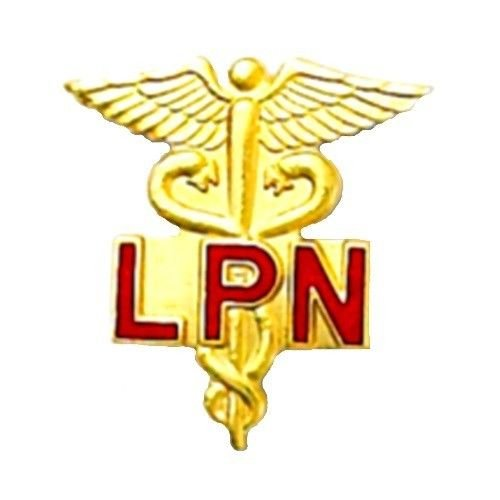LPN Lapel Pin Licensed Practical Nurse Caduceus Nursing Graduation Pins 5028 New