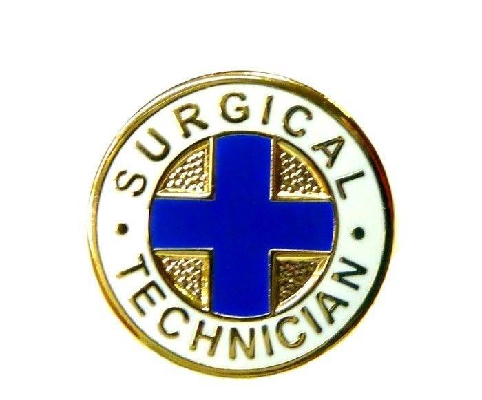 Surgical Technician Lapel Pin Hospital Medical Emblem Graduation Pins 819 New