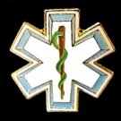 EMT EMS Lapel Pin Star Of Life Serpent Cap Pins Tac Emergency Medical Technician