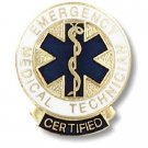 Certified EMT Lapel Pin Emergency Medical Technician Graduation Recognition New