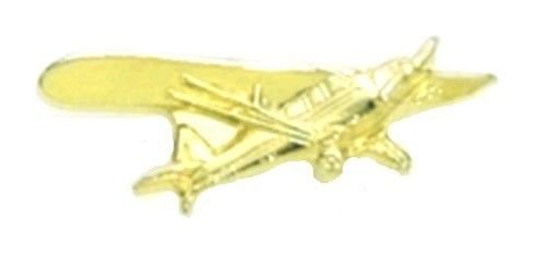 Airplane Piper Cub Pin Pilot Plane Cessna Lapel Tac Flying Tail Dragger USA New