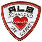 Advanced Life Support Pin ALS Medical Emblem Lapel Collar Heart EMT EMS New