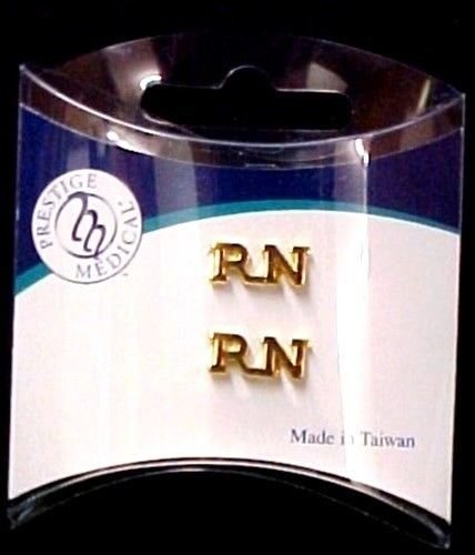 RN Nurse Lapel Pin Tac Registered Nurse Medical Set of 2 Cap Pins Graduation New