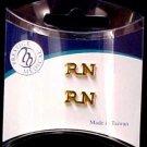 RN Nurse Lapel Pin Tac Registered Nurse Medical Set of 2 Cap Pins Graduation New