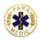 Para Medic Lapel Pin Paramedic EMS Medical Emblem Star of Life Pins 974 New
