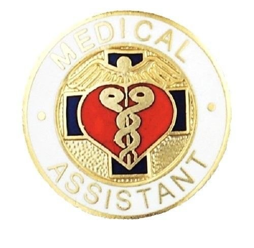 Medical Assistant Lapel Pin MA Graduation Recognition Nursing Medical Gift New
