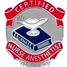Certified Nurse Anesthetist Pin CRNA Medical Emblem Graduation Pins Nursing 101