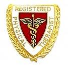 Registered Physical Therapist Lapel Pin Caduceus RPT Graduation 981 New