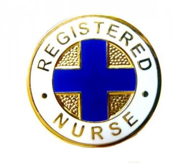 Registered Nurse Lapel Pin RN Medical Graduation Ceremony Professional 808 New