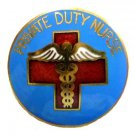 Private Duty Nurse Lapel Pin 933 Nurses Nursing Medical Emblem Professional New