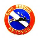 Dive Rescue Recovery Tie Tack Tac Gold Scuba Diver Diving Team 67G Ties New