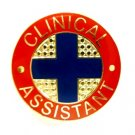 Clinical Assistant Pin Medical Blue Cross Patient Care Professional 104 New