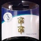 LPN Caduceus Lapel Pin Set of 2 Cap Tacs Licensed Practical Nurse Graduation New