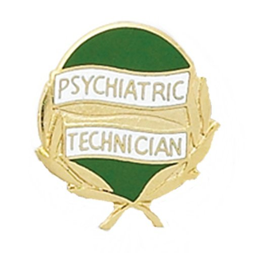 Psychiatric Technician Lapel Pin Psych Tech Medical Emblem 970