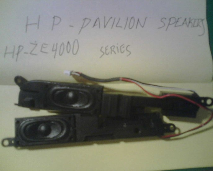 PAIR OF SPEAKERS FOR HP PAVILION ZE 4000 SERIES