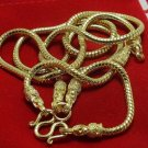 29 INCHES GOLD PLATED MICRON NECKLACE FOR 3 BUDDHA AMULET PENDANT COOL NICE GIFT