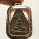 SUPER RARE LP BOON BUDDHA IN DHARMA SHIELD THAI POWERFUL ANTIQUE AMULET PENDANT