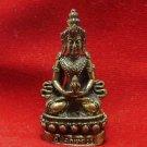 SIAM POWER BUDDHA AMULET BEAUTIFUL THAILAND MINI STATUE