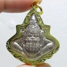 RAHU OM MOON HINDU WEALTH LUCKY PENDANT THAI MAGIC BLESSING AMULET THAILAND GIFT