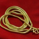 24 INCHES GOLD PLATED MICRON NECKLACE FOR 1 BUDDHA AMULET PENDANT COOL NICE GIFT