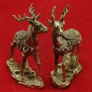 THAI MINI AMULET CHARM MAGIC DUO DEER LOVE ATTRACTION SEX APPEAL LUCKY TALISMAN