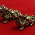 DUO PI YAO DRAGON MONEY WEALTH & LUCKY RICH ATTRACTION CHINESE MINI AMULET CHARM