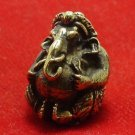 TINY LORD GANESH GANESHA HINDU DEITY GOD SUCCESS MINI BALL REAL AMULET NICE GIFT