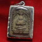 SANGKAJAI HAPPY BUDDHA REAL RARE ANTIQUE THAI AMULET PENDANT FOR INVESTOR TRADER