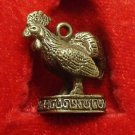 CHINESE CHICKEN ROOSTER LUCKY RICH CHARM REAL AMULET COOL PENDANT THAI NICE GIFT