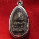 1954 PIDTA ARJAN CHOOM BUDDHA ANTIQUE THAI LUCKY LIFE PROTECTION AMULET PENDANT
