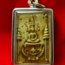 PHRA SOMDEJ LORD BUDDHA ON GARUDA EAGLE THAI REAL AMULET LIFE PROTECTION PENDANT