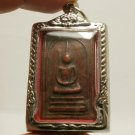 PHRA SOMDEJ LP PUEK THAI BUDDHA AMULET REAL BUDDHISM SUCCESS RICH LUCKY PENDANT