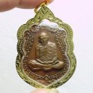 1975 LP TIM THAILAND FAMOUS MONK THAI BUDDHA COIN POWERFUL YANTRA AMULET PENDANT