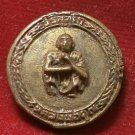 LP KOON BACK YANTRA BRASS COIN RICH MONEY MULTIPLY VERY RARE THAI BUDDHA AMULET
