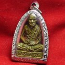 LP NGERN THAI FAMOUS MONK THAILAND REAL BUDDHA AMULET LUCKY RICH SUCCESS PENDANT