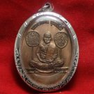 LP NGERN THAI FAMOUS MONK BUDDHA AMULET COIN THAILAND PENDANT LUCKY RICH SUCCESS