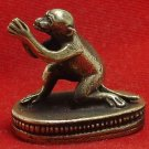 TINY THAI BRASS AMULET LOVE ATTRACTION APPEAL MAGIC MONKEY LUCKY THAILAND GIFT