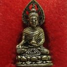 THAI BUDDHISM MINI AMULET LORD BUDDHA ENLIGHTEN WIN ALL OBSTACLES SIAM NICE GIFT