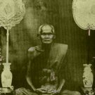 REAL POWERFUL LP BOON BUDDHA CHANT MAGIC MANTRA BLESSING THAI TOP AMULET PENDANT