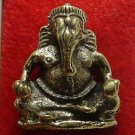 GANESH LORD OF SUCCESS HINDU GOD THAI MINI BRASS AMULET REMOVE OBSTACLES GIFT