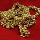24 INCHES GOLD PLATED MICRON NECKLACE FOR 1 BUDDHA AMULET PENDANT LUCKY GIFT