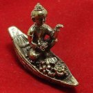 THAI MINI AMULET KUMAN GUMAN THONG BOY MAGIC SPIRIT RIDE BOAT CALL MONEY WEALTH