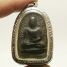 PHRA PERM THAI REAL BUDDHA BLACK ANTIQUE AMULET POWERFUL MAGIC WEALTH RICH LUCKY