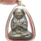 SACRED LP DHEP LOKEUDORN THAI BUDDHA STRONG MAGIC SUCCESS & LUCKY AMULET PENDANT