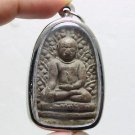 VERY RARE THAI BUDDHA AMULET LP PERM REAL POWERFUL ANTIQUE MIRACLE LUCKY PENDANT