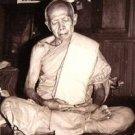LP TIM PIDTA CLOSE EYES BUDDHA YANTRA TAKRUT THAI LIFE PROTECTION AMULET PENDANT