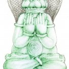 PIDTA BUDDHA CLOSE EYE JATUKAM THAI MINI AMULET PENDANT MIRACLE MAKER LUCKY GIFT