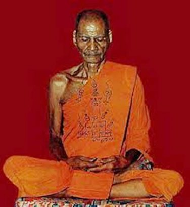 1973 LP PHROM POWERFUL MAGIC BUDDHA THAI AMULET PENDANT GIFT & HANDMADE NECKLACE